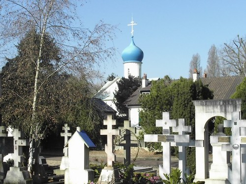 El Cementerio Ortodoxo Ruso, en Essonne
