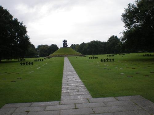 El Cementerio Aleman de La Cambe