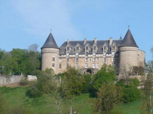 Rochechuart, en la region de Limousin