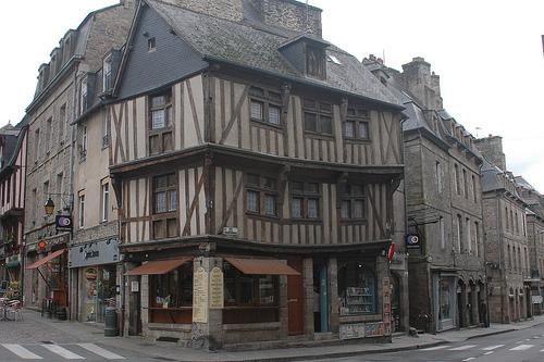 La pequeña ciudad medieval de Dinan