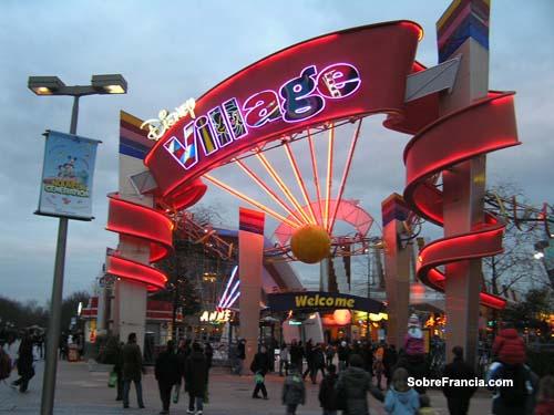 Disney Village, de tiendas por Eurodisney