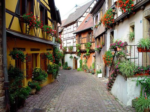 Eguisheim, un pueblecito de fábula