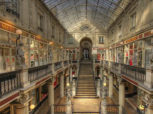 Passage Pommeraye, bello centro comercial