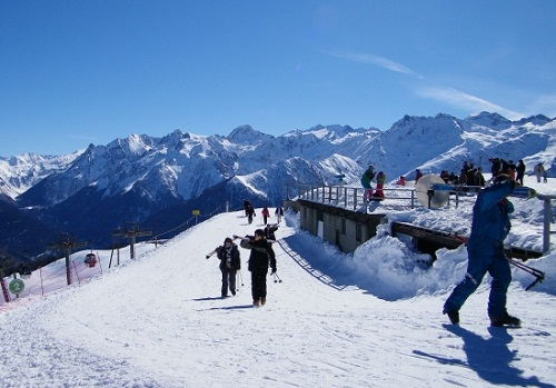 esquiar en bagnères de luchon