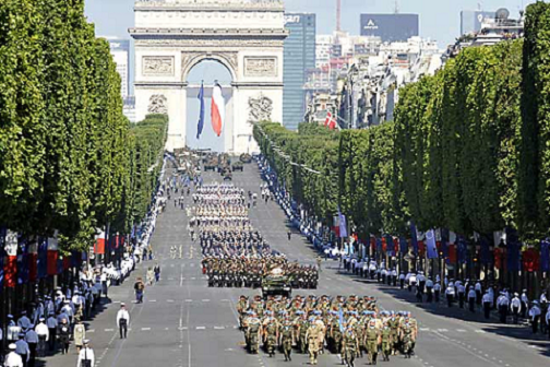 La Fiesta Nacional de Francia 2010