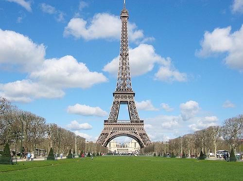 Torre Eiffel en Francia