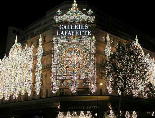 Galeries Lafayette, lujo y moda en París
