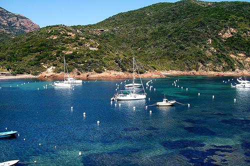 El Golfo de Girolata, turismo en Córcega