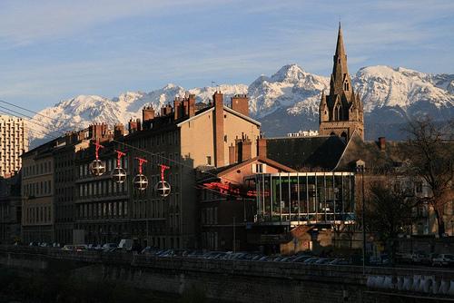 Recorrido por Saint Etienne y Grenoble