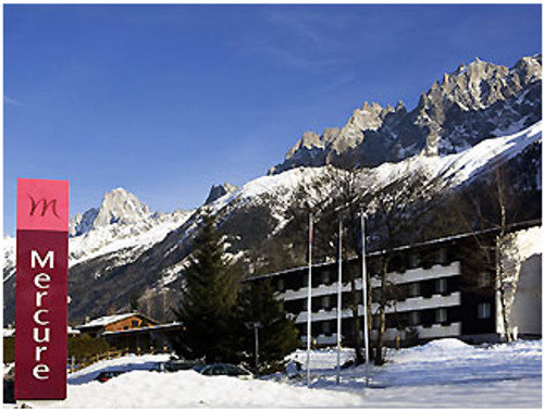 Hotel Mercure Chamonix, en los Alpes franceses