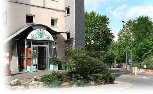 Hotel Sovereign, comodidad en las afueras de París