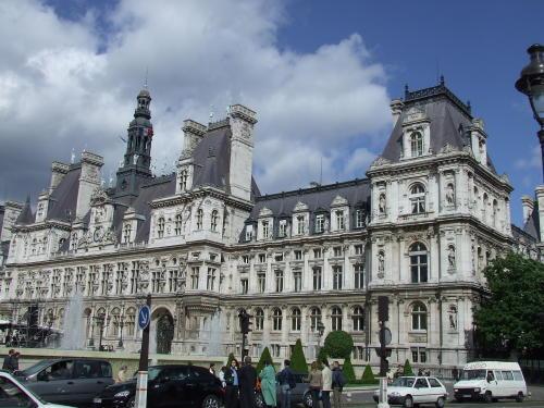 El Hotel du Ville, el ayuntamiento de París
