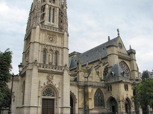 La iglesia St-Germain d'Auxerrois de París
