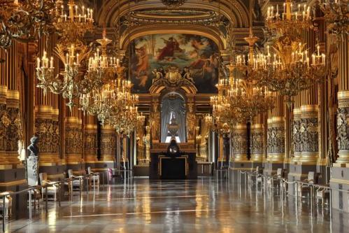 La Ópera Garnier, arte en París