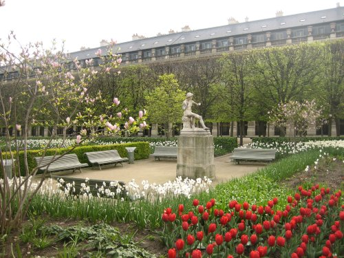 Los jardines del Palais Royal
