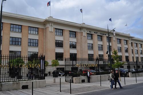 Moët et Chandon, la bodega más famosa de Francia