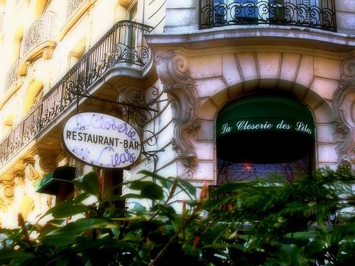 La Closerie des Lilas, un restaurante muy chic