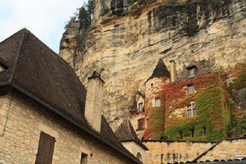 La Roque Gageac, bello pueblo de Francia