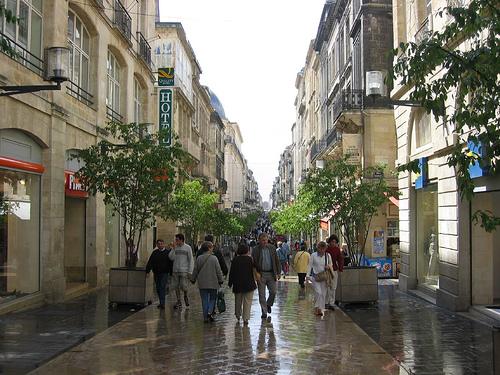 La Rue Ste Catherine de Burdeos