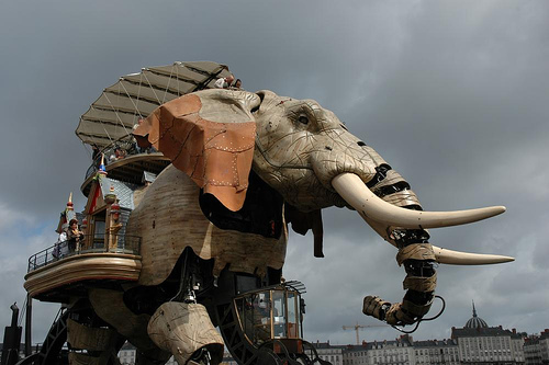 Maquinas de la Isla de Nantes