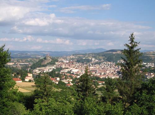 Le Puy-en-Velay, Auvergne, villa de arte e historia