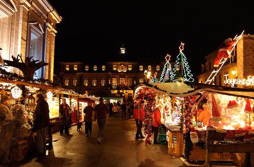 Mercado navideño de los Campos Eliseos