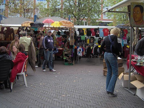 Mercado de las pulgas en paris