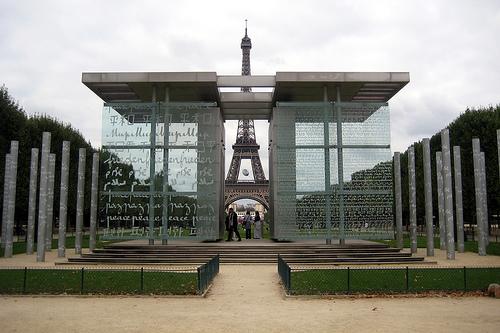 El Muro De La Paz De París