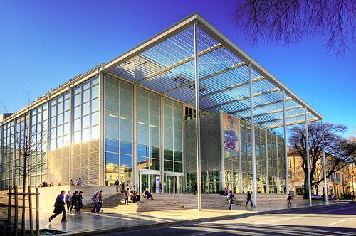El Museo de Arte Contemporáneo de Nimes