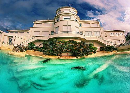 El museo del mar de Biarritz