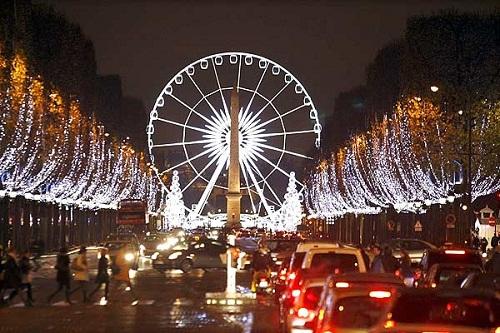 Inolvidables navidades en París