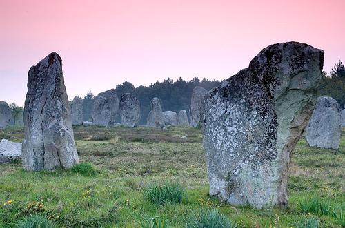 Los menhires y dólmenes de Carnac