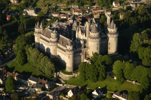 Pierrefonds y su hermoso castillo