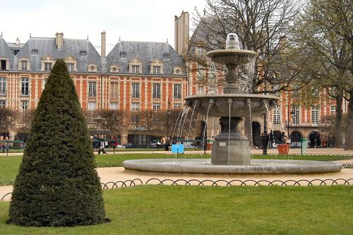La Place des Vosges , una plaza con mucho estilo