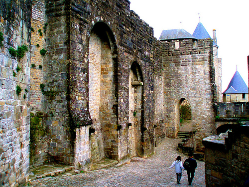 La Puerta de Aude en Carcassonne