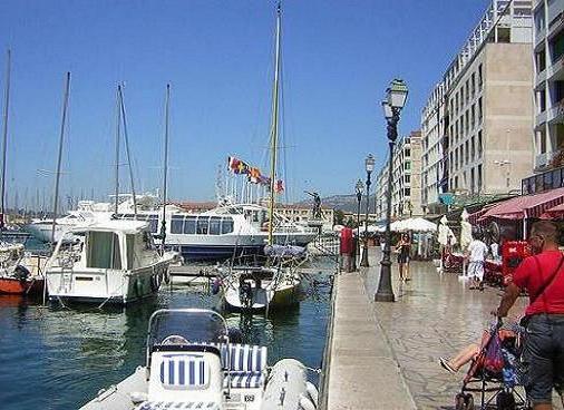 El puerto de Toulón