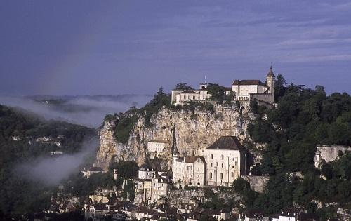 El peculiar pueblo de Rocamadour