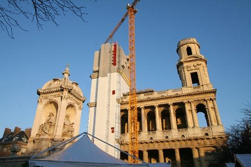 La Iglesia de Saint Sulpice, rival de Notre Dame