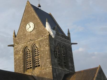 Sainte Mere Eglise y la division Airborne