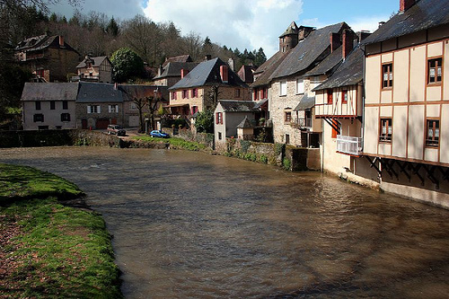 Los hermosos pueblos de Limousin
