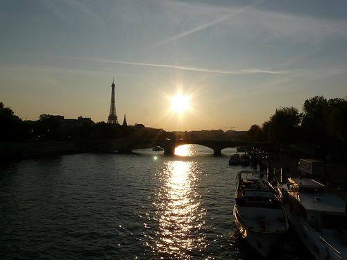 El agradable clima de Francia