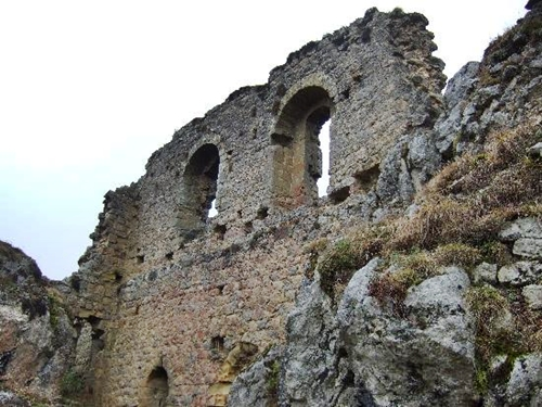 Las ruinas cátaras de Roquefixade